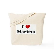 I Love Maritza Tote Bag