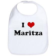 I Love Maritza Bib