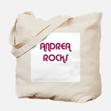 ANDREA ROCKS Tote Bag