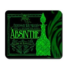 Prof. Wormwood Absinthe Mousepad
