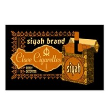Siyah Clove Cigs Postcards (Package of 8)