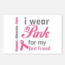 IWearPinkForMyBestFriend Postcards (Package of 8)