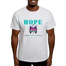 HopeButterfly ThyroidCancer T-Shirt
