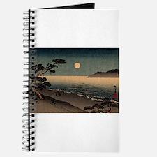 Unique Japanese woodblock Journal
