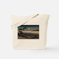 Cute Japanese woodblock Tote Bag