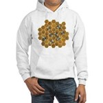 Honey Bees Hooded Sweatshirt