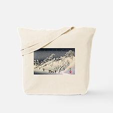 Unique Japanese woodblock Tote Bag