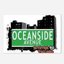 OCEANSIDE AVENUE, STATEN ISLAND, NYC Postcards (Pa