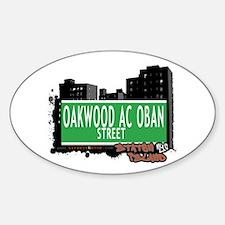OAKWOOD AC OBAN STREET, STATEN ISLAND, NYC Decal