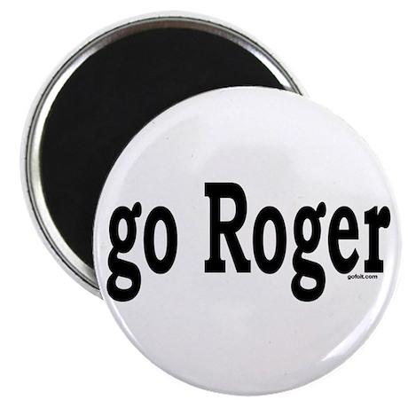 go Roger Magnet