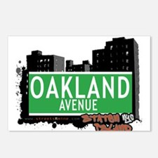OAKLAND AVENUE, STATEN ISLAND, NYC Postcards (Pack