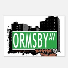 ORMSBY AVENUE, STATEN ISLAND, NYC Postcards (Packa