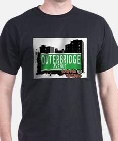 OUTERBRIDGE AVENUE, STATEN ISLAND, NYC T-Shirt