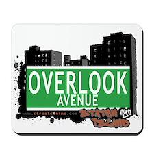 OVERLOOK AVENUE, STATEN ISLAND, NYC Mousepad