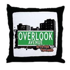OVERLOOK AVENUE, STATEN ISLAND, NYC Throw Pillow
