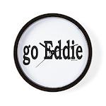 go Eddie Wall Clock