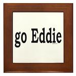 go Eddie Framed Tile