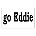 go Eddie Rectangle Sticker