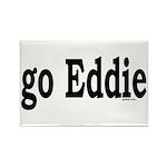 go Eddie Rectangle Magnet (100 pack)
