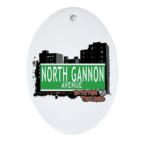 NORTH GANNON AVENUE, STATEN ISLAND, NYC Ornament (