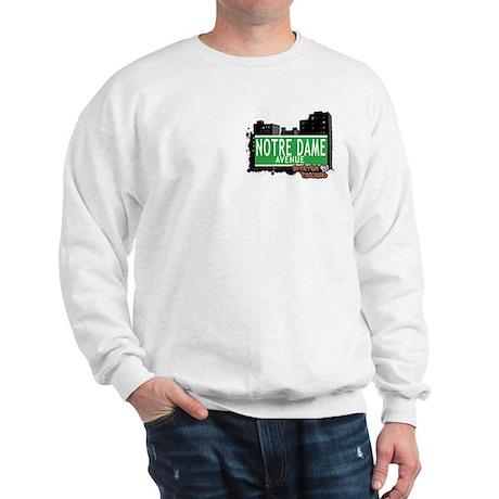 NORTE DAME AVENUE, STATEN ISLAND, NYC Sweatshirt