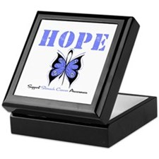 HopeButterfly StomachCancer Keepsake Box