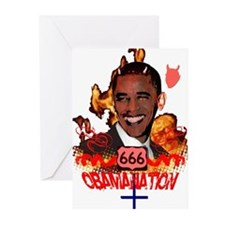 Cute Antichrist Greeting Cards (Pk of 10)