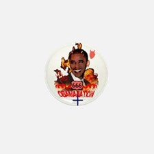 Cute Obamanation Mini Button