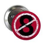 "Overturn 8 - 2.25"" Button (100 pack)"