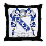 Gibwyn Coat of Arms Throw Pillow