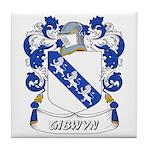 Gibwyn Coat of Arms Tile Coaster