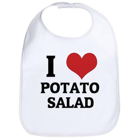 I Love Potato Salad Bib