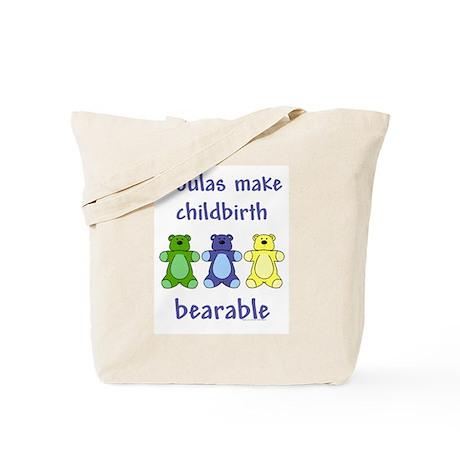 Doulas / Bearable Tote Bag