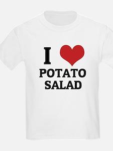 I Love Potato Salad Kids T-Shirt