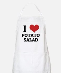 I Love Potato Salad BBQ Apron