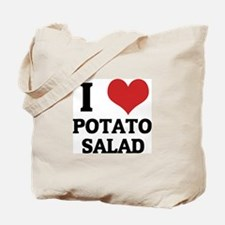 I Love Potato Salad Tote Bag