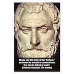 Greek Philosophy: Thales Large Poster