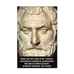 Greek Philosophy: Thales Mini Poster Print