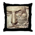 Greek Philosophy: Thales Throw Pillow