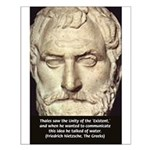 Greek Philosophy: Thales Small Poster