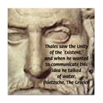 Greek Philosophy: Thales Tile Coaster