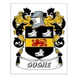 Goghe Coat of Arms Small Poster