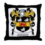 Goghe Coat of Arms Throw Pillow