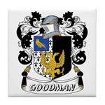 Goodman Coat of Arms Tile Coaster