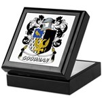 Goodman Coat of Arms Keepsake Box