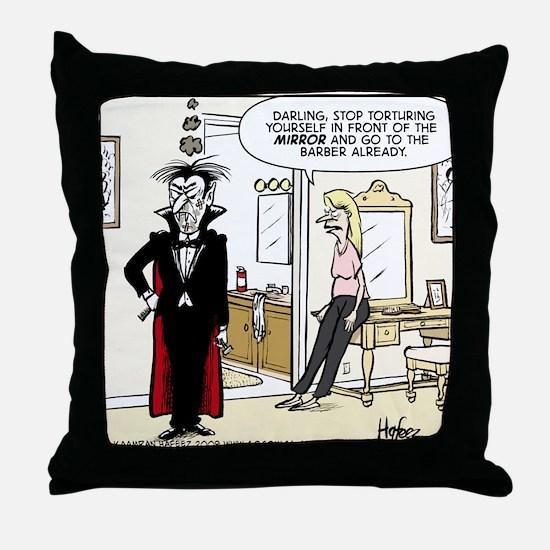 Dracula's Bane Throw Pillow