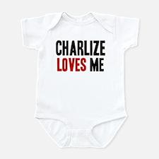 Charlize loves me Infant Bodysuit
