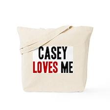 Casey loves me Tote Bag