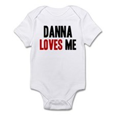 Danna loves me Infant Bodysuit