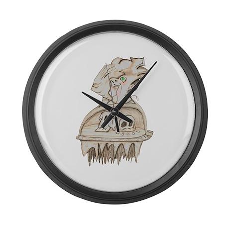Drawing 4 Large Wall Clock by Perilimina